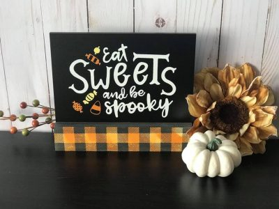 Sweet Treats Halloween Decor