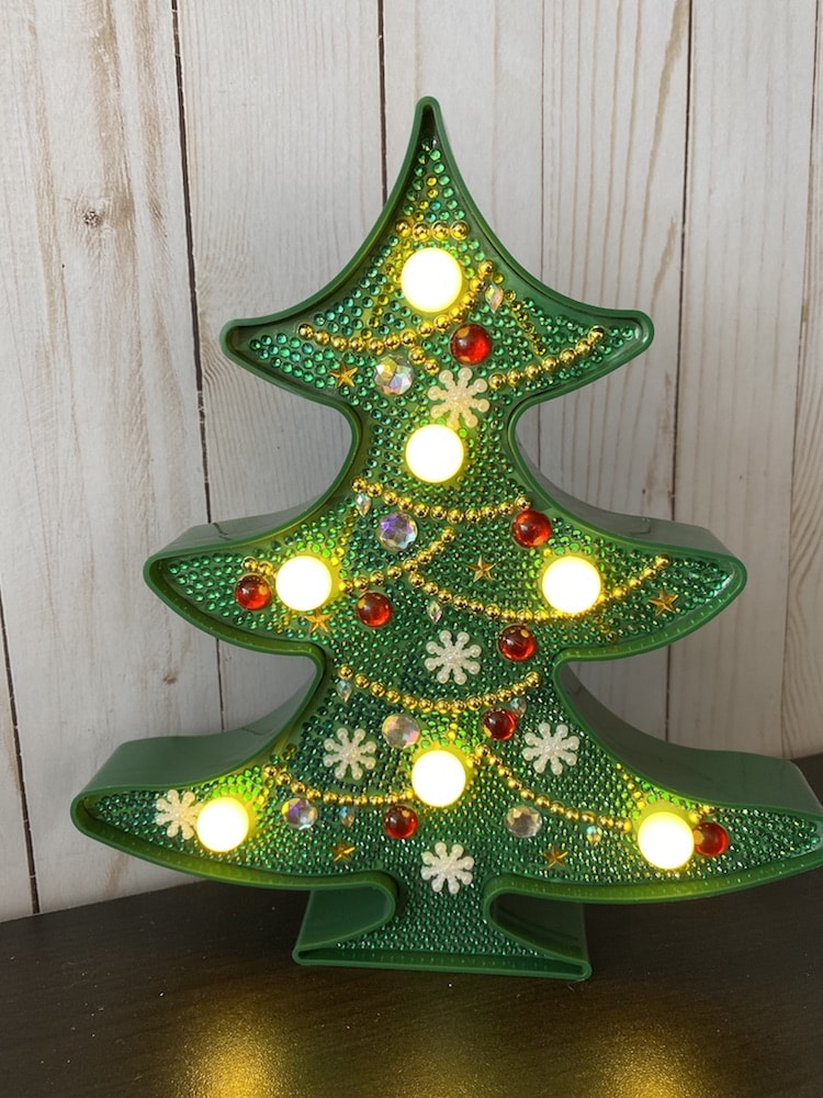 Xmas Tree Night Light 2